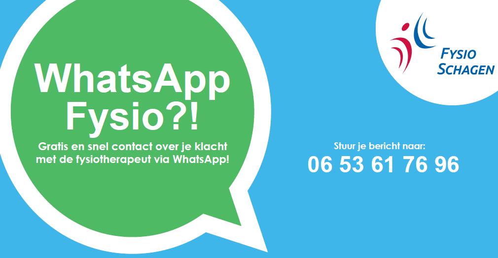 whatsapp fysio